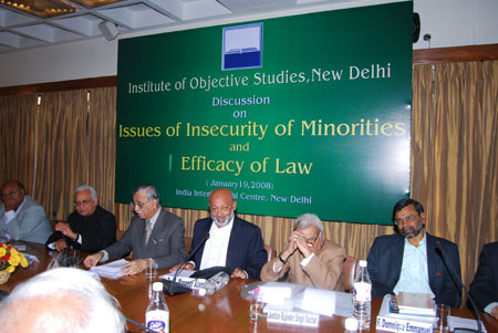 IOS Discussion on Issues of Insecurity of Minorities and Efficacy of Law